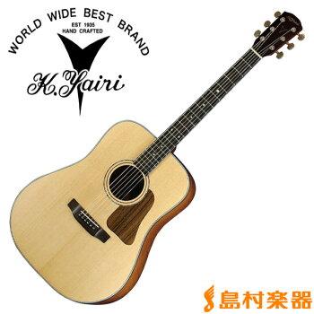 K.YairiYW-K13SAPNTアコースティックギター【フォークギター】Kシリーズ【KヤイリYW-K13SAP】