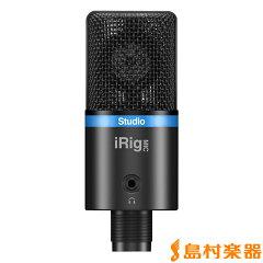 【送料無料】IK Multimedia iOS/Android/PC対応マイク iRig Mic Studio ブラック IKマルチメデ...