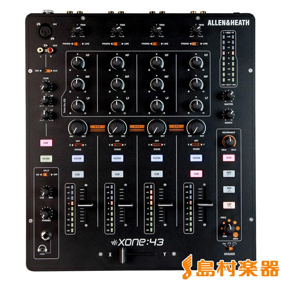 DJ機器, DJミキサー Allen Heath Xone:43 DJ