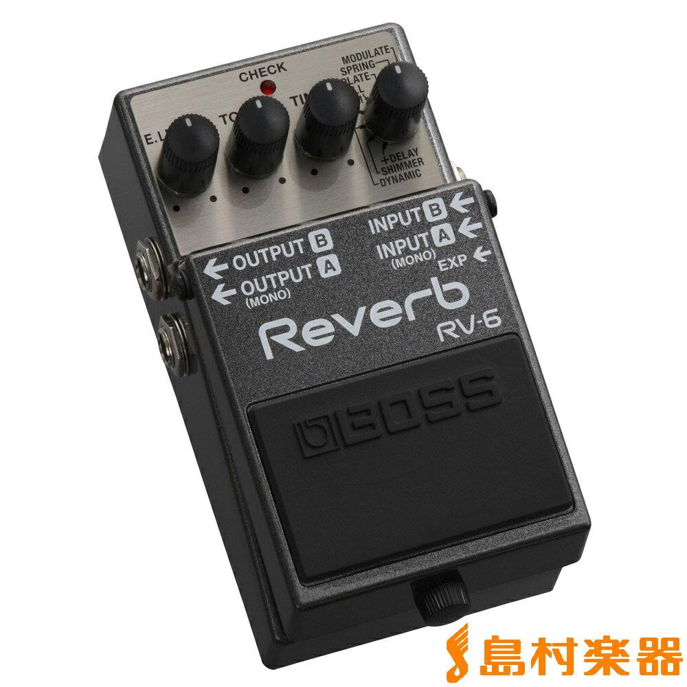 ギター用アクセサリー・パーツ, エフェクター BOSS RV-6 RV6