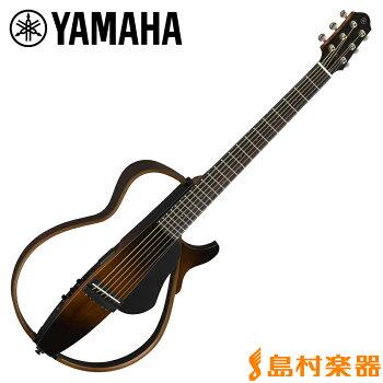 YAMAHASLG200STBS(タバコブラウンサンバースト)サイレントギタースチール弦モデル【ヤマハ】