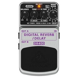 ベリンガー リバーブ エフェクター DIGITAL REVERB/DELAY DR400 BEHRINGERベリンガー リバーブ ...