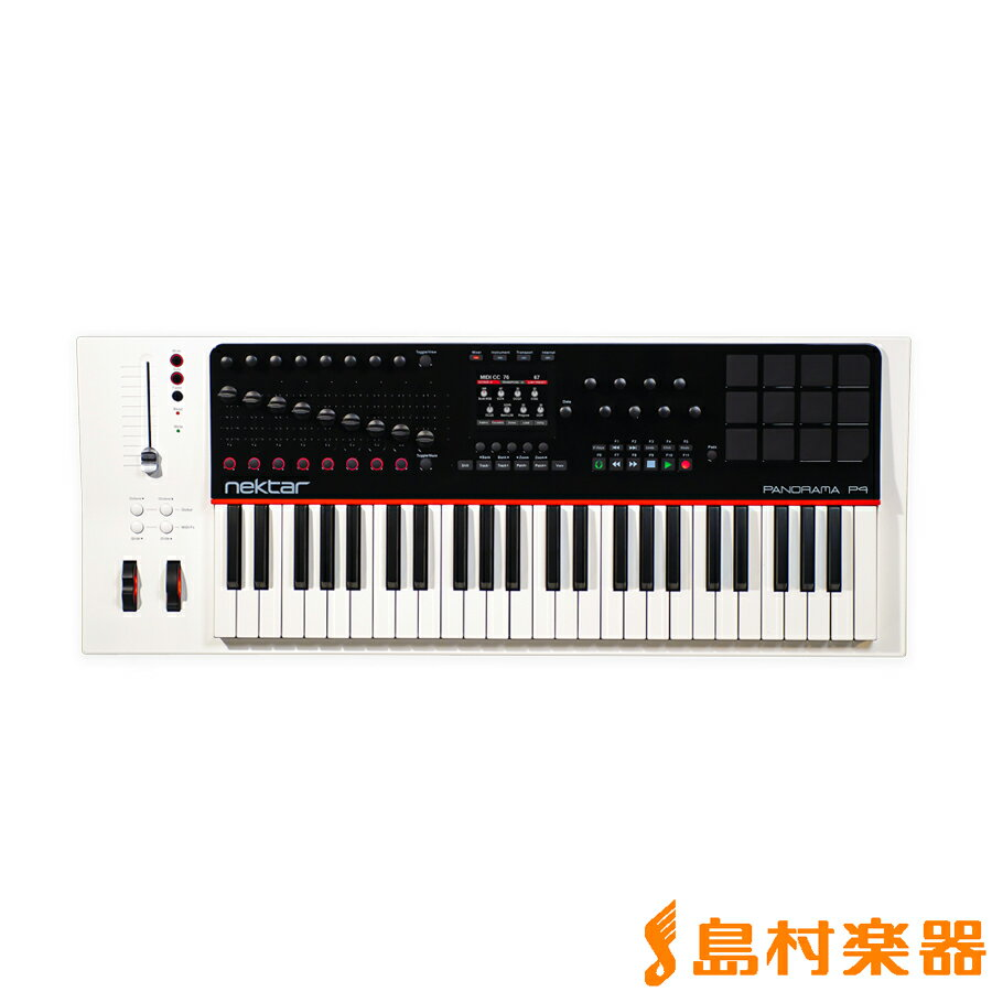 DAW・DTM・レコーダー, MIDIキーボード Nektar Technology PANORAMA P4 MIDI 49