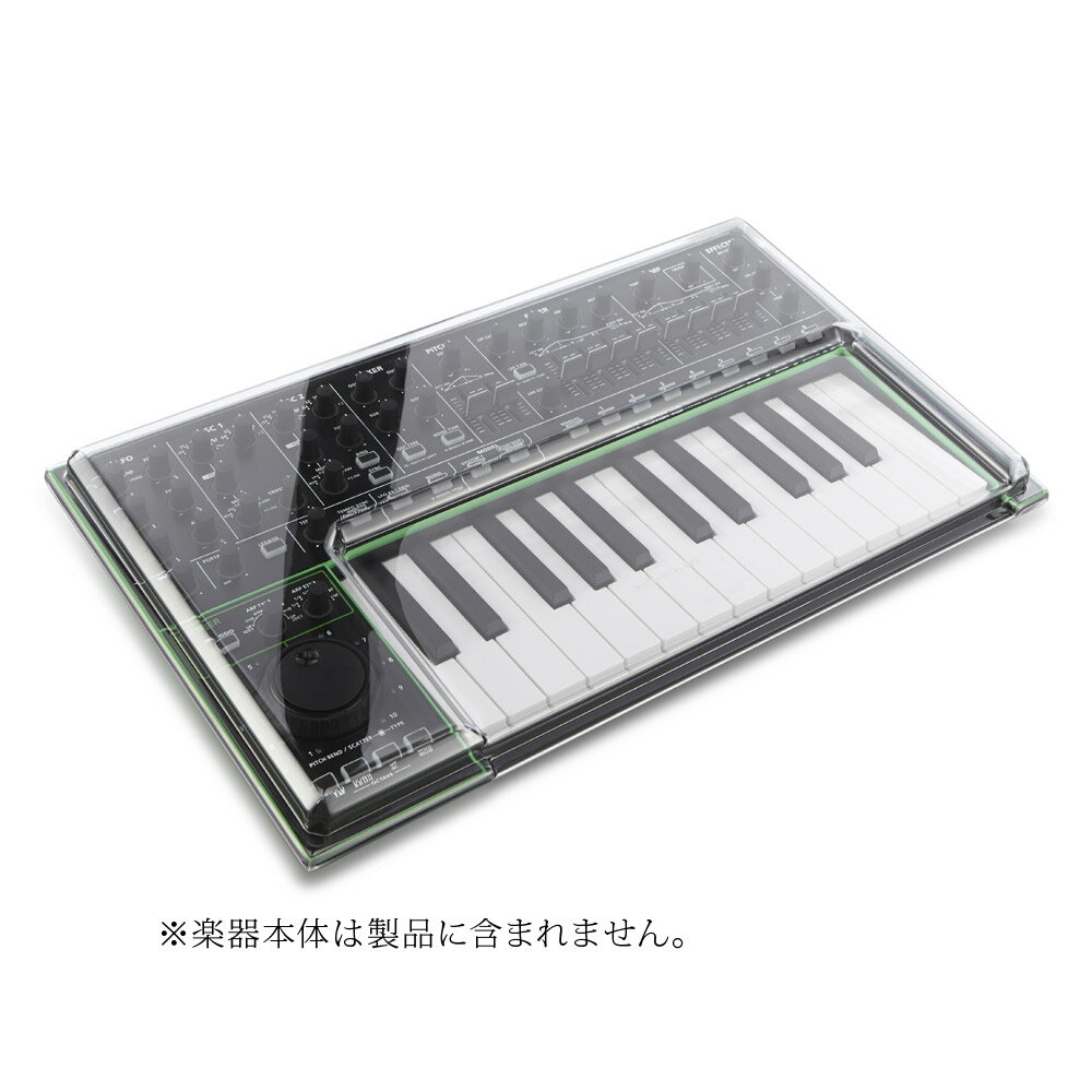 DJ機器, その他 DECKSAVER DSS-PC-SYSTEM1 Roland AIRASystem-1 dust cover DSSPCSYSTEM1