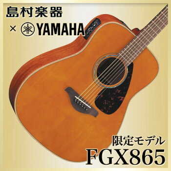 YAMAHAFGX865T(ティンテッド)アコースティックギター【エレアコ】【ヤマハ】【島村楽器限定】
