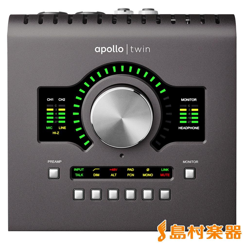 DAW・DTM・レコーダー, オーディオインターフェイス UNIVERSAL AUDIO Apollo Twin MKII DUO