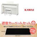 KAWAI CN27A ブラックカーペット(小)セット 電子ピアノ 88鍵盤 【カワイ】【配送設置無料・代引き払い不可】