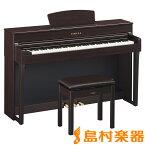 YAMAHA CLP-635R 電子ピアノ クラビノーバ 88鍵盤 【ヤマハ CLP635 Clavinova】【配送設置無料・代引き払い不可】【別売り延長保証対応プラン:D】