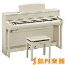 YAMAHA CLP-675WA 電子ピアノ クラビノーバ 88鍵盤 【ヤマハ CLP675 Clavinova】【配送設置無料・代引き払い不可】
