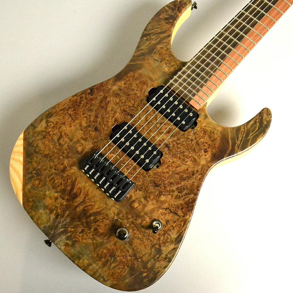 ギター, エレキギター Caparison Dellinger-7-FX-MBASCLTLBKM 7