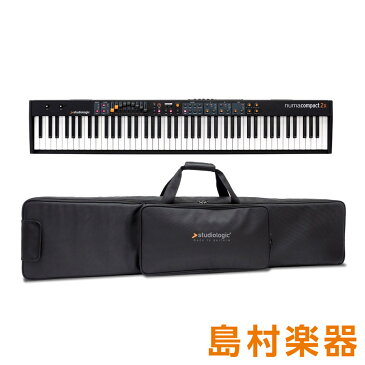 Studiologic Numa Compact 2x +[専用ソフトケース]セット ステージピアノ [スピーカー内蔵] 88鍵盤 【スタジオロジック】