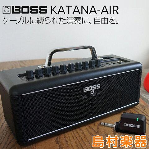 BOSS KATANA-AIR ギターアンプ ワイヤレス Bluetooth 【ボス KTN-AIR 刀 カタナ】