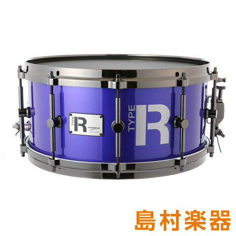 "CANOPUS MTR-1465-DH/BN GalaxyMetallic スネアドラム Type-R ""BULLET"" -Maple 10ply- 【カノウプス】"