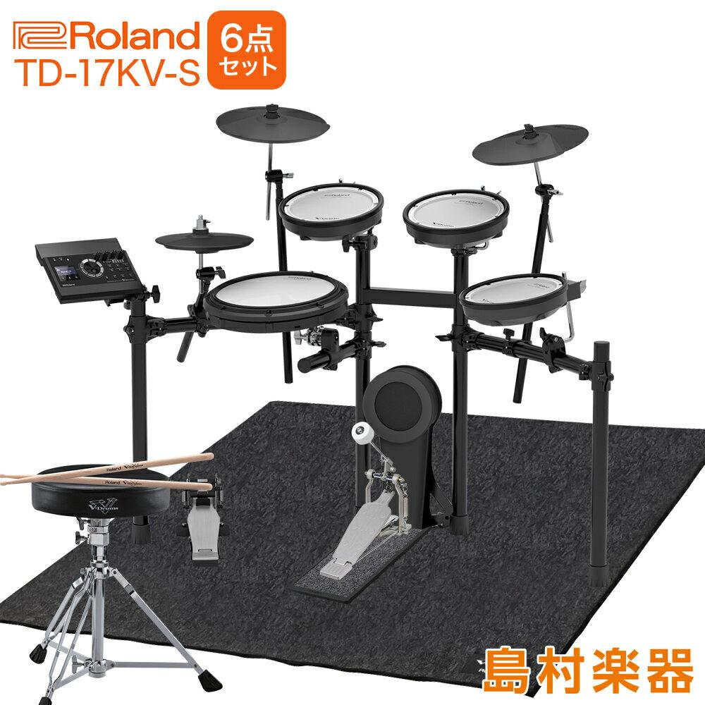 ドラム, 電子ドラム Roland TD-17KV-S 6 TD17KVS V-drums V