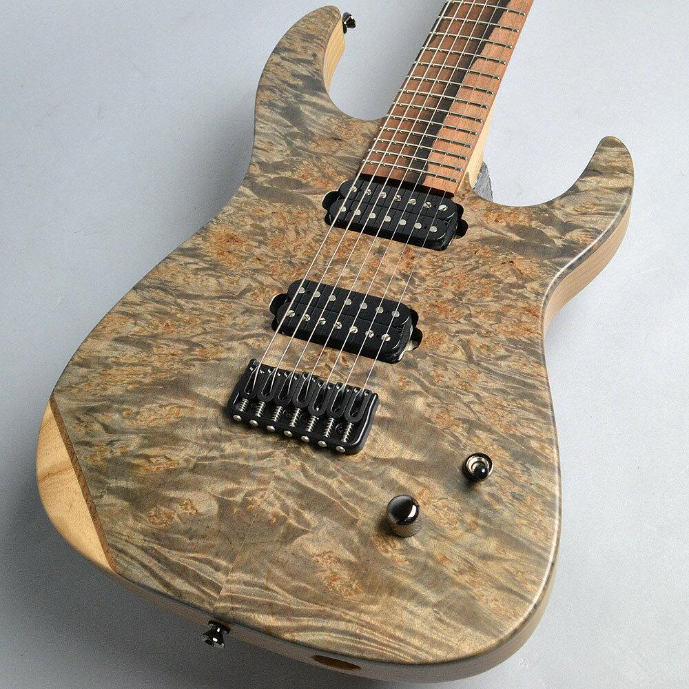 ギター, エレキギター Caparison Dellinger7FX-MBASCLTrans.Lig ht Black Matt 7 PePe12