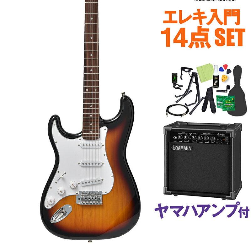 ギター, エレキギター Bacchus BST-1R-LH 3TS 14