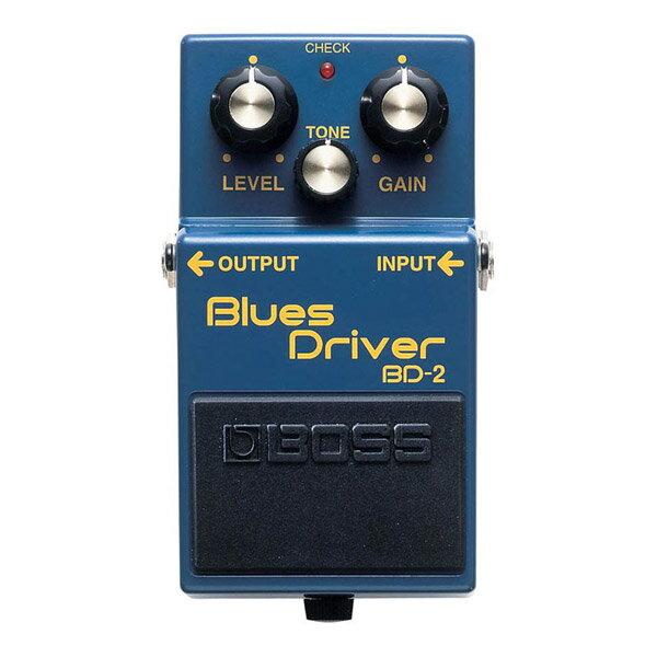 【2/29迄 アダプタープレゼント!】 BOSS BD-2 オーバードライブ BluesDriver ブルースドライバー エフェクター 【ボス BD2】