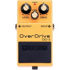 BOSS OD-3 最初の1台におすすめ! オーバードライブ OverDrive エフェクター 【ボス OD3】