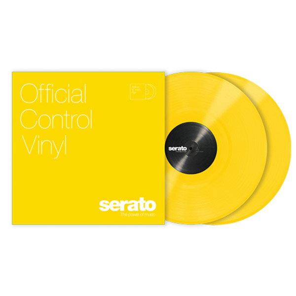 DJ機器, その他 Serato 12 Serato Control Vinyl Yellow 2