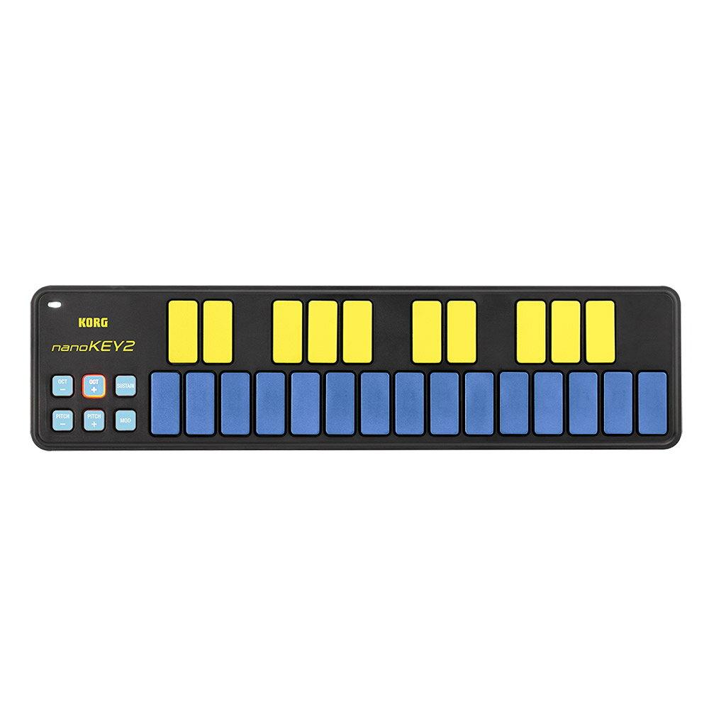 DAW・DTM・レコーダー, MIDIキーボード KORG nanoKEY2 (BLYL) 25 MIDI