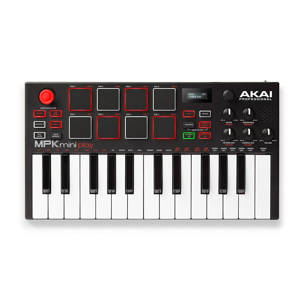 DAW・DTM・レコーダー, MIDIキーボード AKAI MPK mini play MIDI
