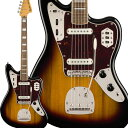 Squier by Fender Classic Vibe '70s Jaguar Laurel Fingerboard 3-Color Sunburst エレキギター ジャズマスター 【スクワイヤー / スクワイア】