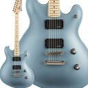 Squier by Fender Contemporary Active Starcaster Maple Fingerboard Ice Blue Metallic スターキャスター 【スクワイヤー / スクワイア】