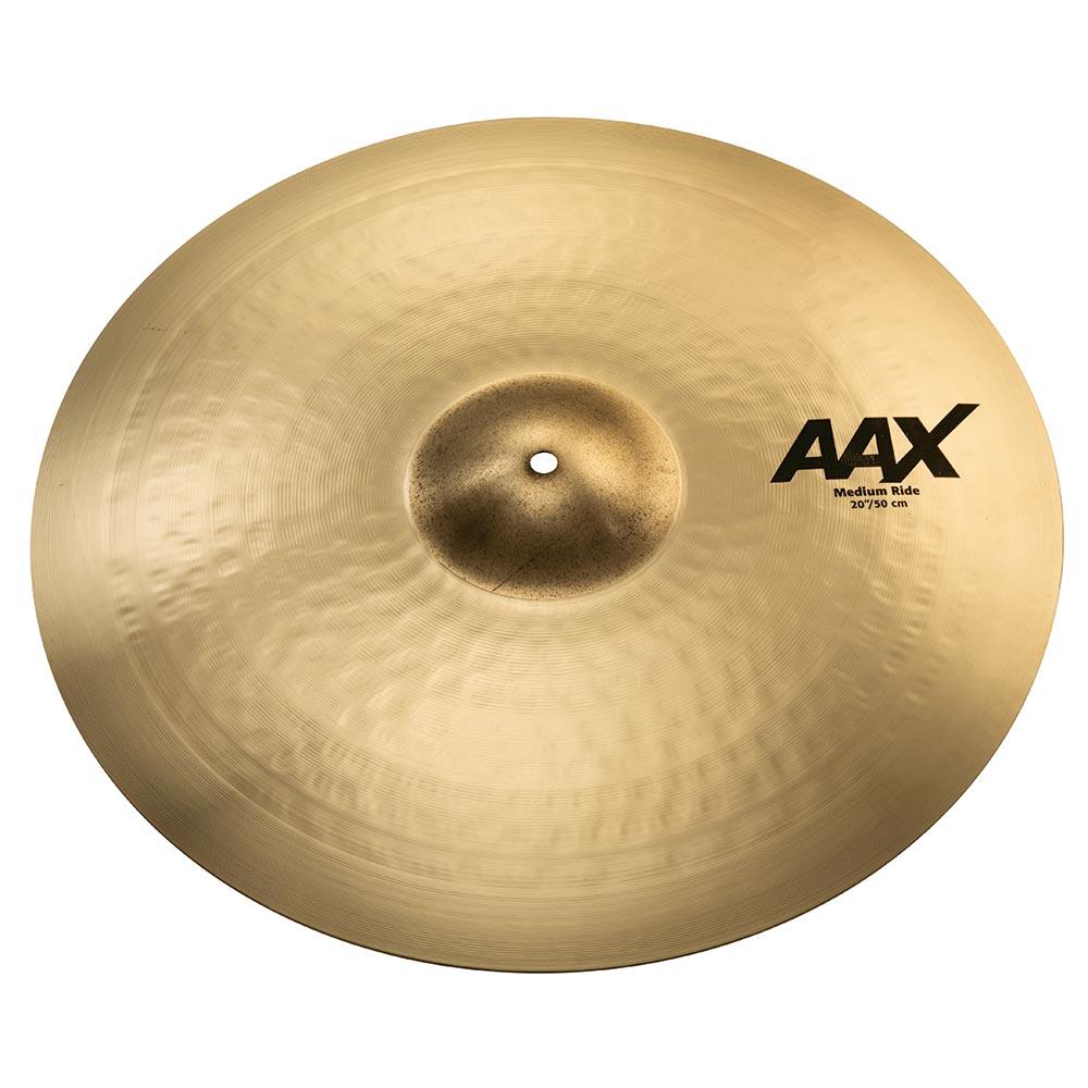 ドラム, ライドシンバル SABIAN AAX-22MR-B Medium Ride Brilliant 22