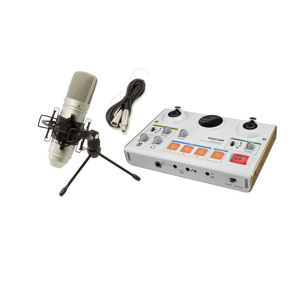 DAW・DTM・レコーダー, オーディオインターフェイス TASCAM MiNiSTUDIO CREATOR US-42W TM-80
