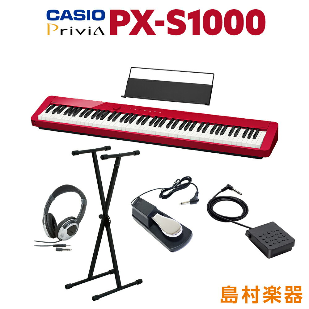 ピアノ・キーボード, 電子ピアノ CASIO PX-S1000 RD 88 X PXS1000 Privia