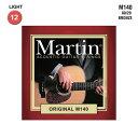 Martin ORIGINAL M-140 アコースティックギター弦 012-0