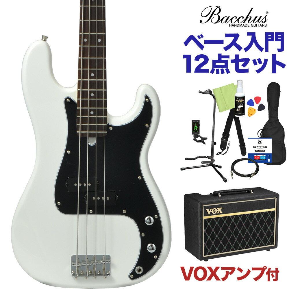 ベース, エレキベース Bacchus BPB-1R SW 12 VOX