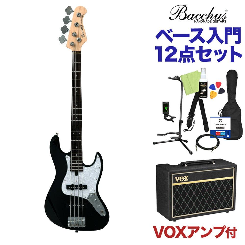 ベース, エレキベース Bacchus WJB-Mini BLK 12 VOX