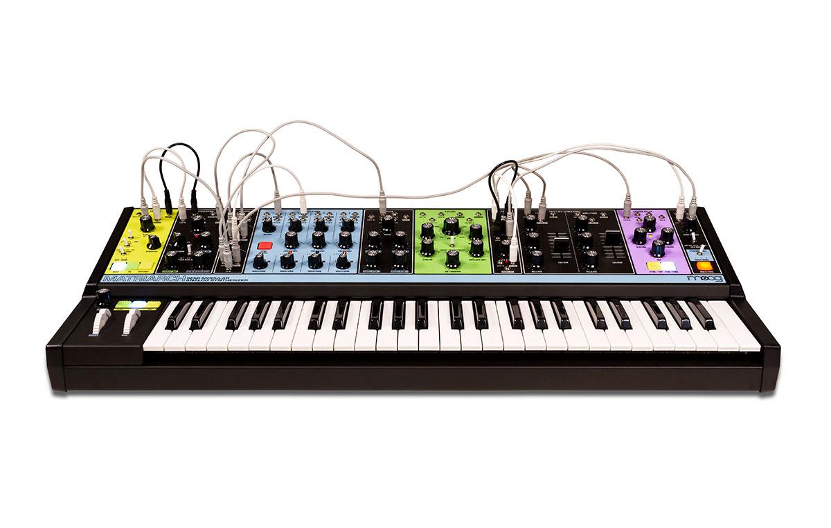 ピアノ・キーボード, キーボード・シンセサイザー moog MATRIARCH 4
