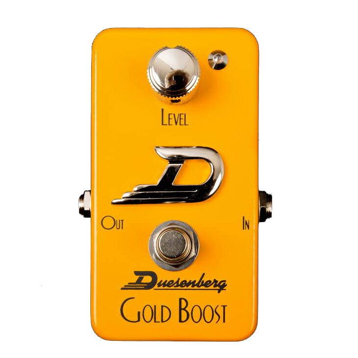 ギター用アクセサリー・パーツ, エフェクター Duesenberg DPE-GB Gold Boost