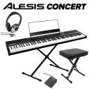 ALESIS Concert スタンド+イス+ヘッドホンセット