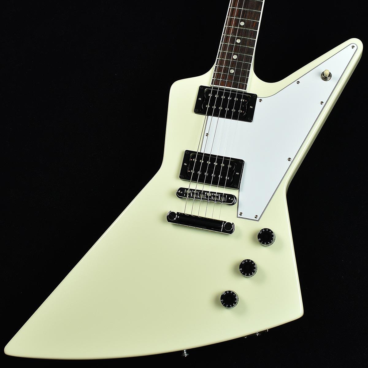 ギター, エレキギター Gibson 70s Explorer Classic White SN219000092