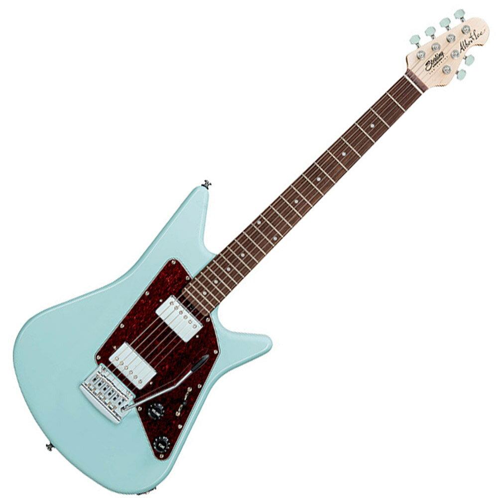 ギター, エレキギター STERLING by Musicman AL40 DBL Albert Lee Signature