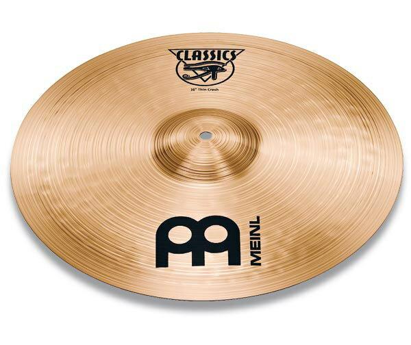 ドラム, クラッシュシンバル MEINL C17PC Classics SERIES POWERFUL 17