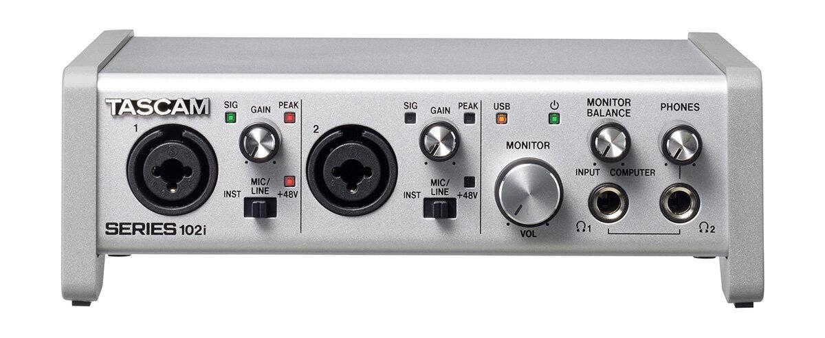 DAW・DTM・レコーダー, オーディオインターフェイス TASCAM SERIES 102i USB MIDI