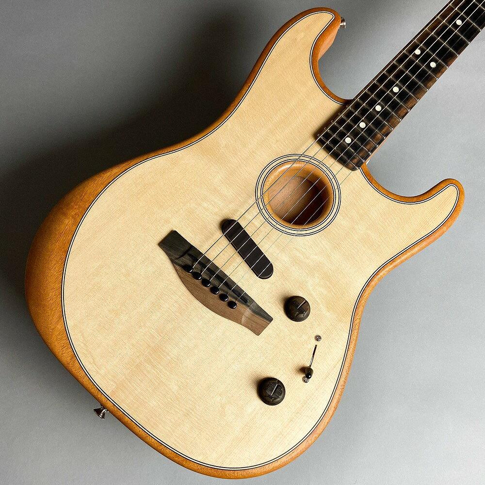 ギター, アコースティックギター Fender American Acoustasonic Stratocaster Natural US203501A