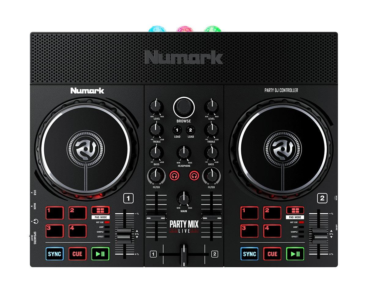 DJ機器, DJコントローラー Numark Party Mix Live DJ LED