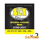 SIT STRINGS S1046TP エレキギター用弦 P...