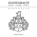 HANNABACH EXCLUSIVE BLACK MT クラシックギター用弦 【ハナバッハ】