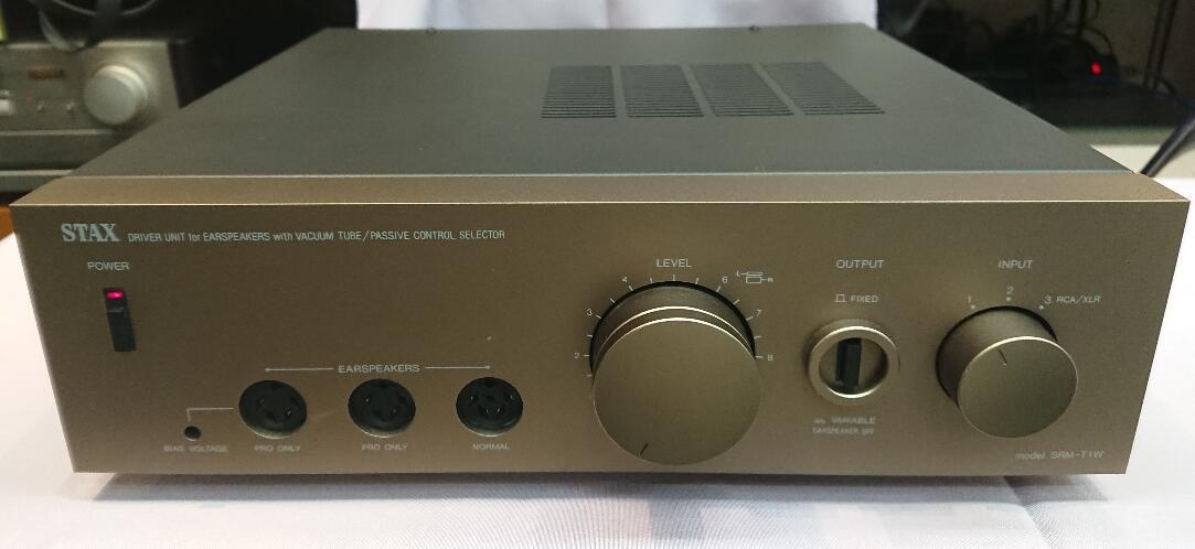 オーディオ, その他 STAX SRM-T1W