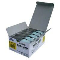 テープ XR-18YW-5P-E 黄に黒文字 18mm 20個★お得な10個パック
