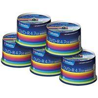【三菱化学】 データ用DVD−R 250枚(50枚*5) DHR47JP50V3C★お得な10個パック