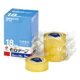 ニチバンセロテープ(エルパックエス) 小巻 18mmx20m 1箱(5巻入)LP−18S