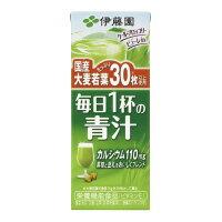 【伊藤園】 毎日1杯の青汁 200ml×24本16294 入数:1 ★お得な10個パック