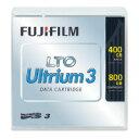 【富士フイルム】 LTOデータカートリッジUltrium3 400GB/800GB 1巻LTOFBUL−3400GJ 入数:1 ★ポイント5倍★